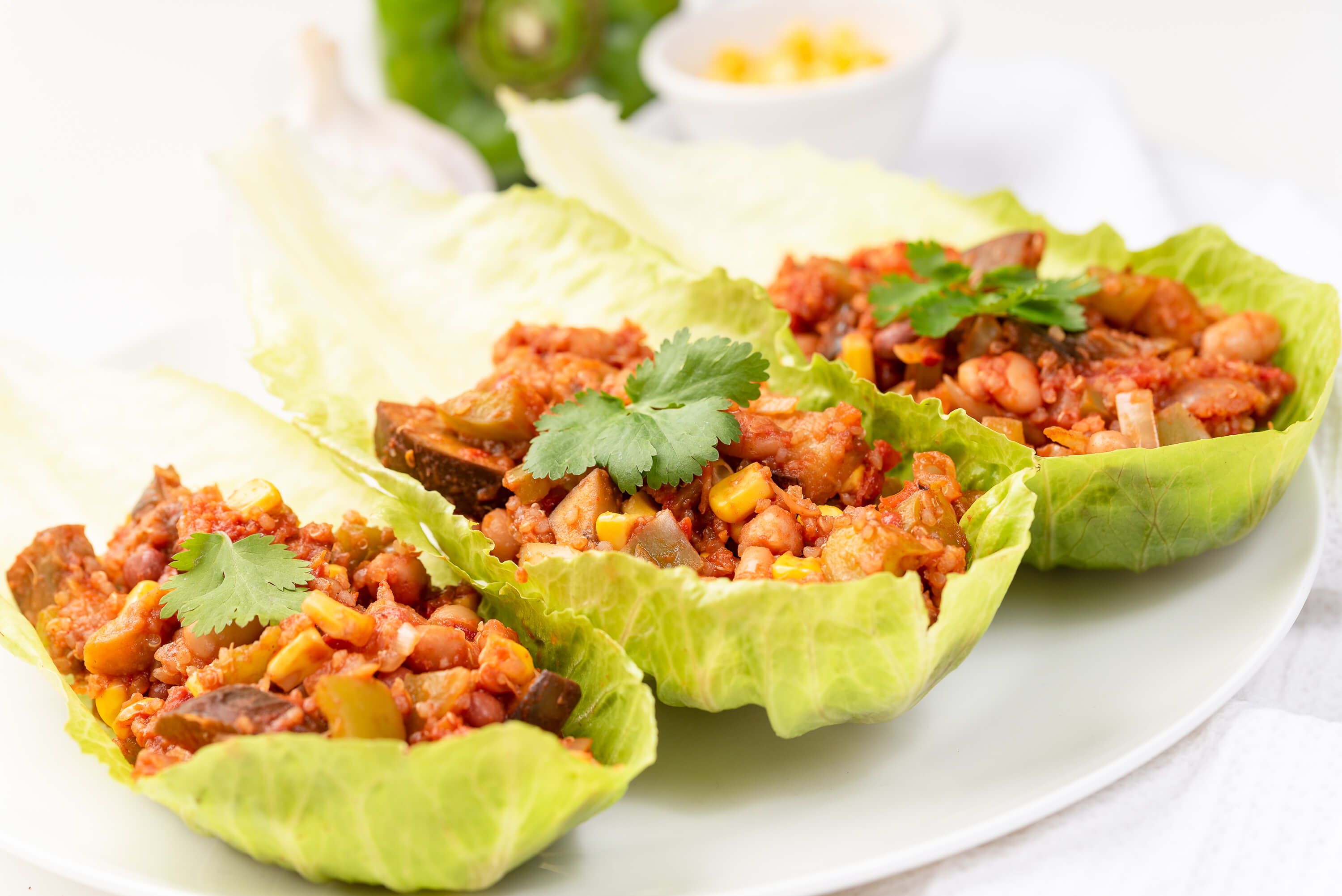 Finding Nutritional Balance in a Plant Based Food lifestyle & Mexican Bean and Quinoa Lettuce Cups