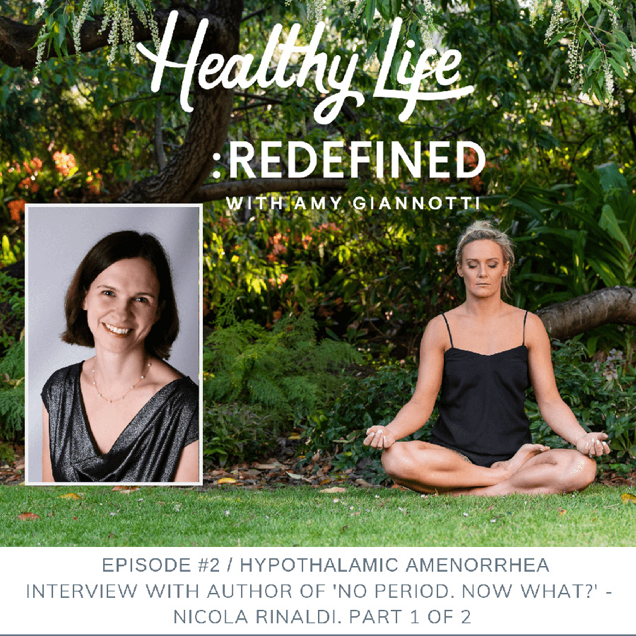 Podcast Episode 2: Hypothalamic Amenorrhea: Interview with Author or 'No Period. Now What?' – Nicola Rinaldi