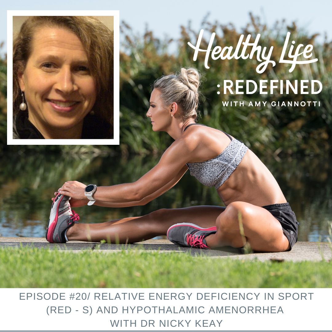 Podcast Episode 20: Relative Energy Deficiency in Sport (RED – S) and Hypothalamic Amenorrhea with Dr Nicky Keay