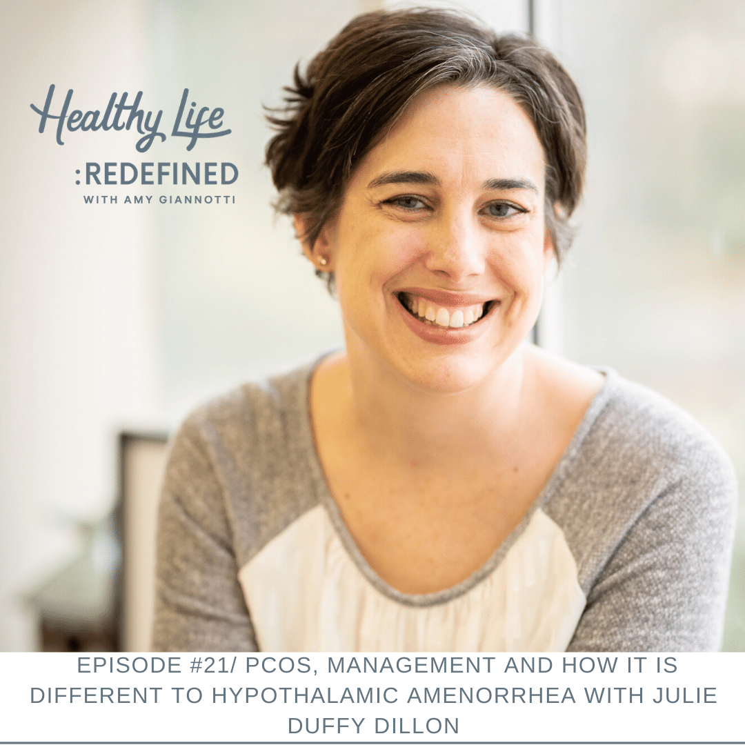 Podcast Episode 21: PCOS, How It Is Different To Hypothalamic Amenorrhea And Management With Julie Duffy Dillon